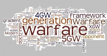 Cyber, Internet, 4th generation warfare,