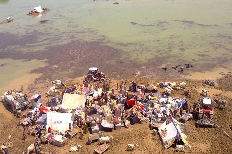 Flood, Pakistan, Nature, Calamity, Global Warming,