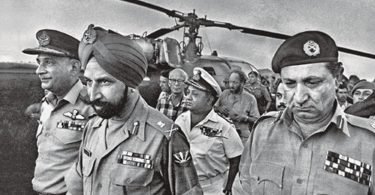 East Pakistan, India, Pakistan, Bangladesh
